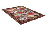 Patchwork Persian Rug 205x144 - Picture 1